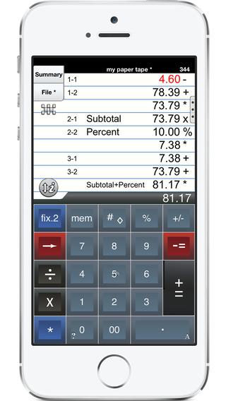 Adding Machine Universal: Free 10 Key Calc