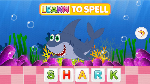 Learn To Spell English Words For Kids