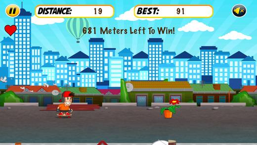 Skyline Dash Run - Skaters vs Obstacles