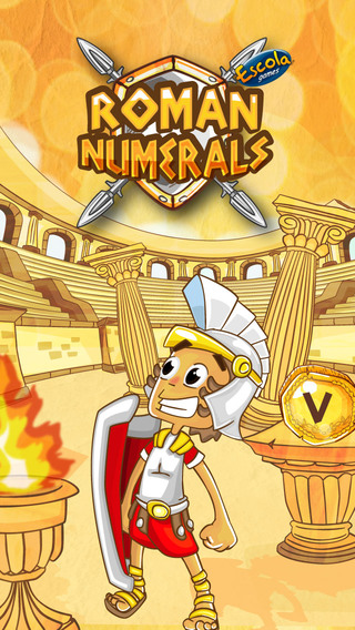 Roman Numerals - Educational Game