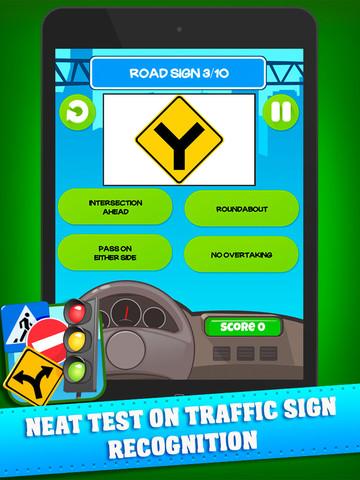 Traffic Signs Test Screenshots
