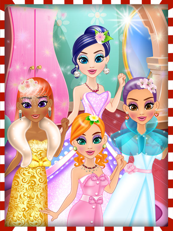 Mommy's Wedding Day Makeover Salon - Hair spa care, makeup & dressup gamesscreeshot 4