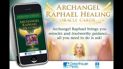 Archangel Raphael Healing Oracle Cards - Doreen Virtue Ph.D.