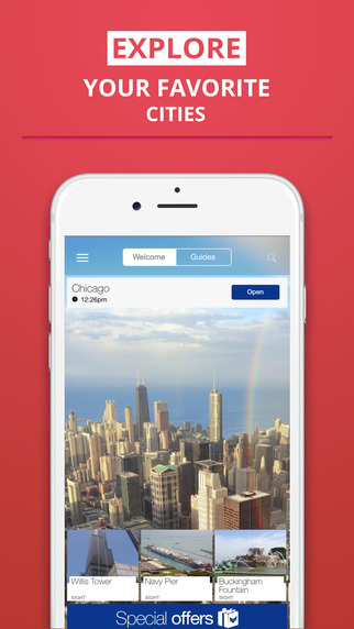 Chicago - your travel guide with offline maps from tripwolf guide for sights restaurants and hotels