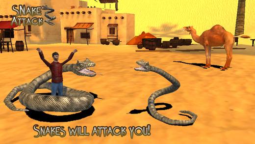 Snake Attack 3D Pro