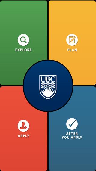 University of British Columbia iPhone Screenshot 1