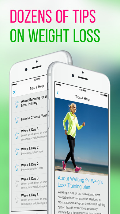 Walking for Weight Loss PRO Screenshots