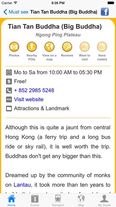 Hong Kong Travel Guide Offline iPhone Screenshot 5