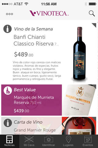 Vinoteca México screenshot 1