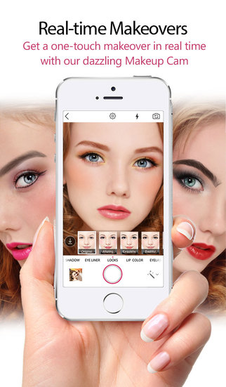 YouCam Makeup – Virtual Makeover Studio, Social Beauty Tips & Holiday Cosmetic Tutorials