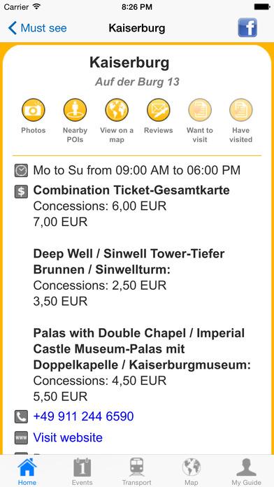 Nuremberg Travel Guide Offline iPhone Screenshot 5