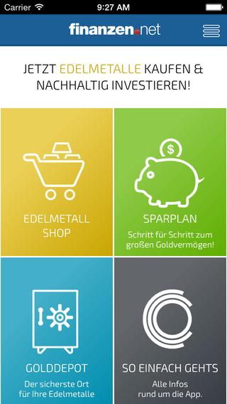 Finanzen.net Goldshop