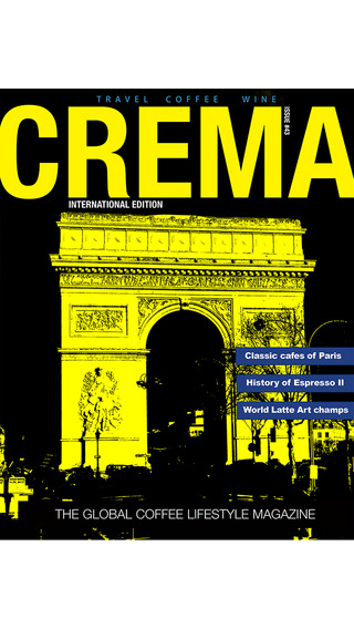 Crema Magazine Australia's Premier Coffee Lifestyle Magazine