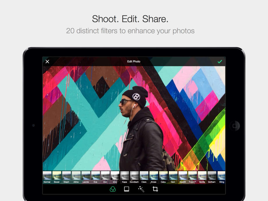 EyeEm - Photo Filter Camera App & Photography Community. Edit your pictures with effects! - iPhone Mobile Analytics and App Store Data