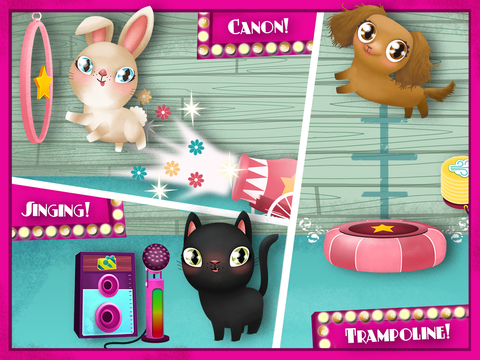 Screenshots of Miss Hollywood Showtime - Pet House Makeover for iPad