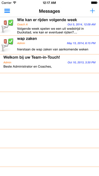Team-in-Touch