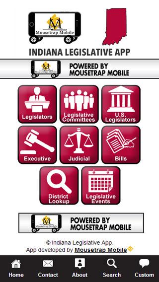 Indiana Legislative App