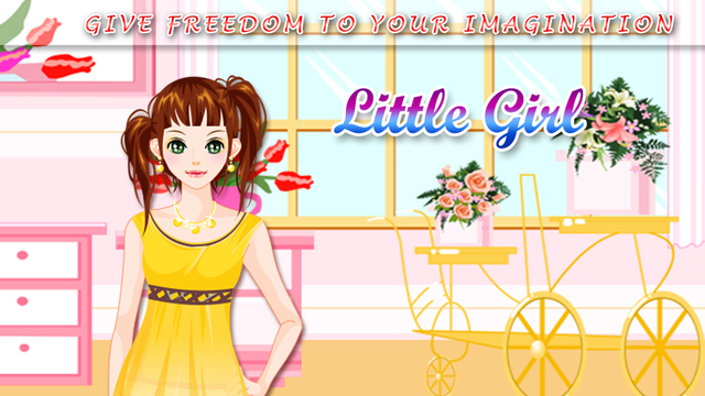 Little Girl Make Up - Game about dressing and fashion for girls and kids