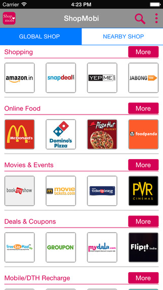ShopMobi: Online Shopping India