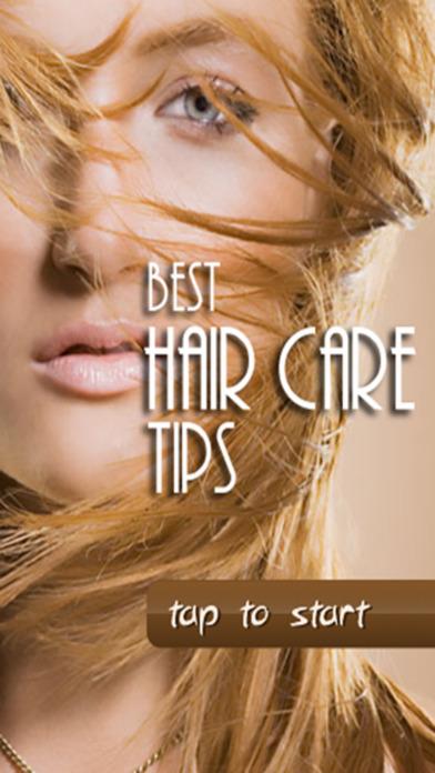 Best Hair Care Tips iPhone Screenshot 1