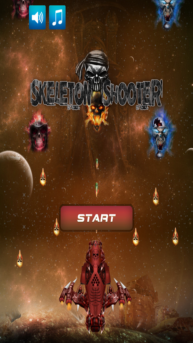 Skeleton shooter halloween shooting adventure ios - Scary skeleton games ...