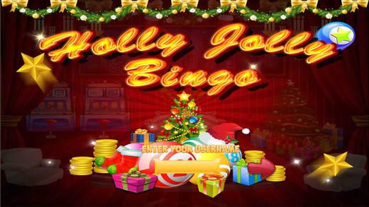 Holly Jolly Bingo