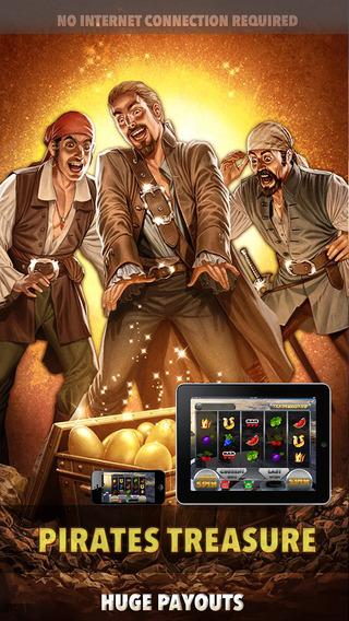 Pirates Treasure Slots - FREE Las Vegas Casino Spin for Win