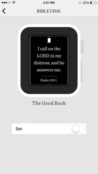 BibleTime - Watch App