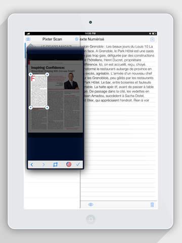 Pixter Scanner OCR by Quanticapps Screenshot