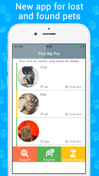 Find My Pet – Card Creator Templates Pro