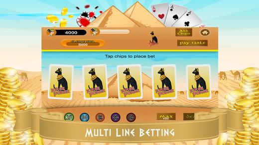 Video Poker PRO - Pyramids Treasure