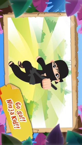 Amazing Ninja Kid HD - Learn to Dominate The Sky