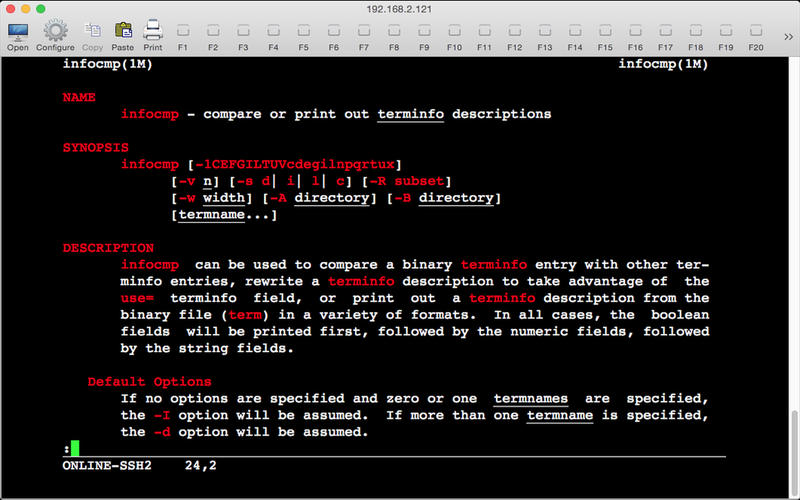 Telnet Lite Screenshot - 1