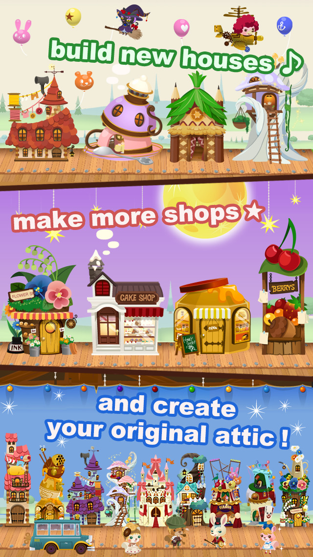 LINE Dream Garden Free Download Ver1410 for iOS