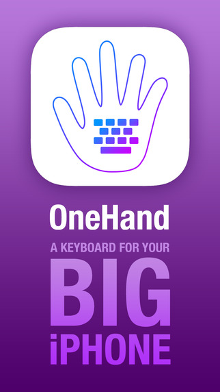OneHand Keyboard ~ With Autocorrect
