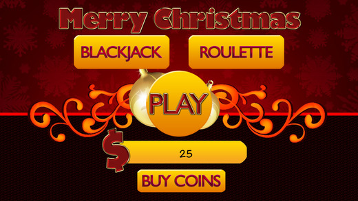 A Aace Merry Christmas Slots BlackJack and Roulette