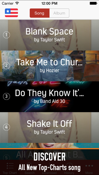 Screenshots of Music 360: free music player, listen by streaming for iPhone