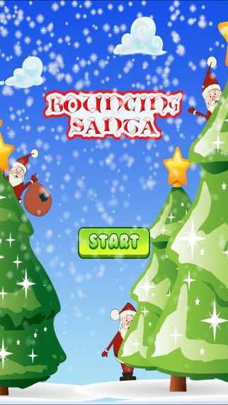 Bouncing Santa HD