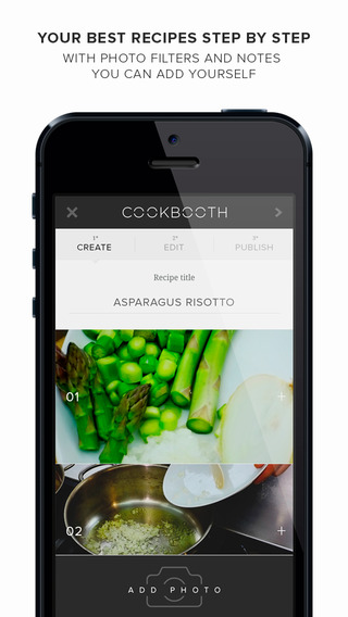 Cookbooth. Photo recipes by chefs and foodies.