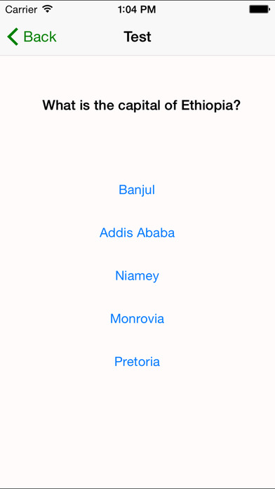 myAfrica - Learn the countries and capitals of Africa iPhone Screenshot 4