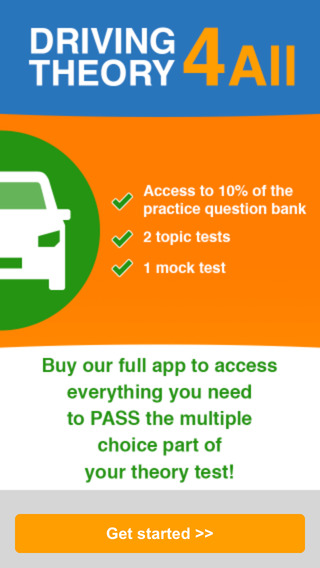 UK Car Driving Theory Test - Practice Questions - Free
