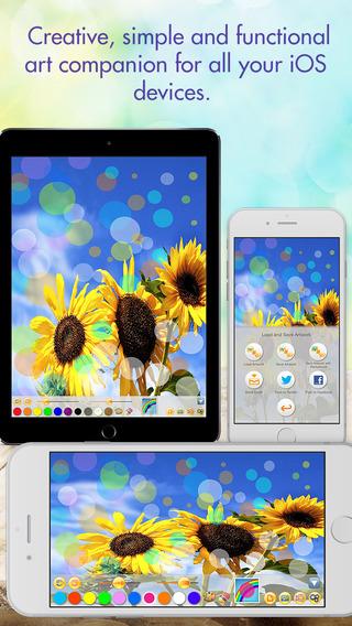 Art App - ClearPainting HD iPhone Screenshot 1