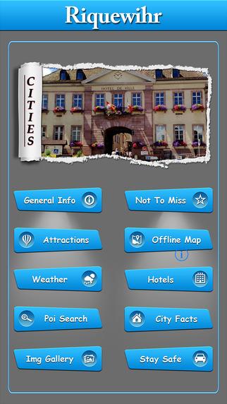 Riquewihr Offline Map Travel Guide