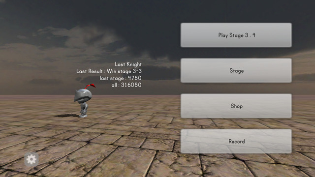 Lost Knight - 3D action