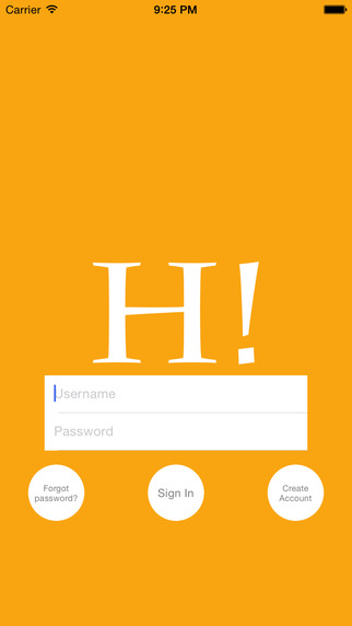 Hi - send messages to friends