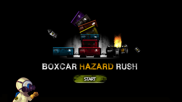 "Boxcar Hazard Rush - ""A curiously ragged endless runner"" (via @148apps)"