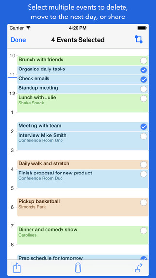 OneStack Calendar - Simplify and organize your life screenshot