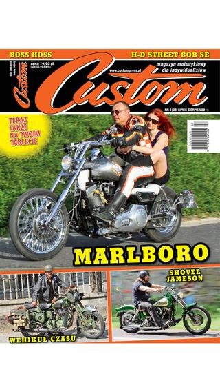 Custom - magazyn motocyklowy