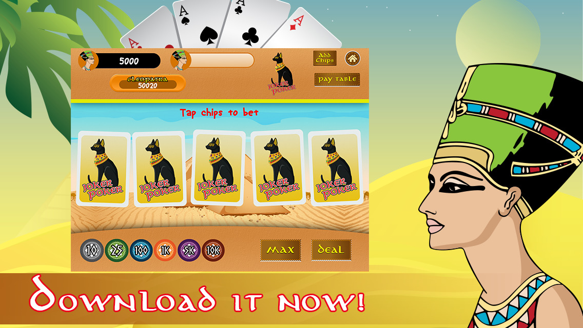 Video poker cleopatra