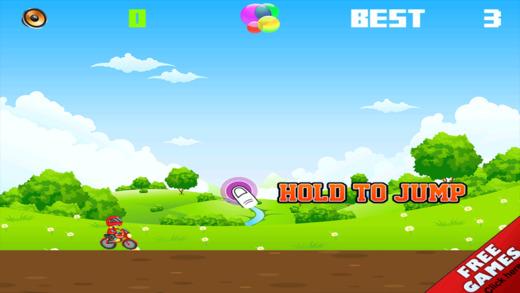 Crazy Bike Jungle Jump - Fast Survival Run Mania